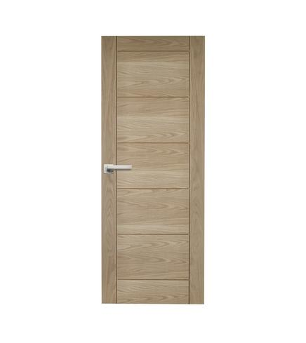 Linear Oak Door